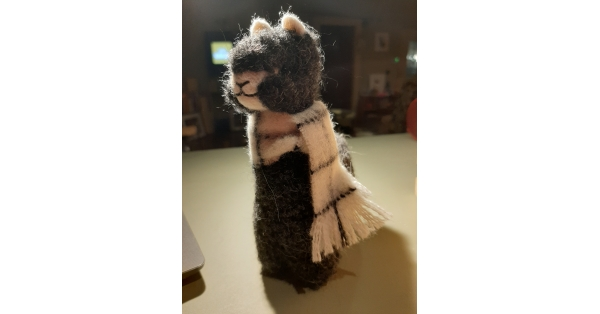 Alpaca Plush Teddy 8""