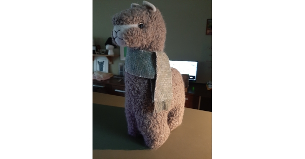 Alpaca Plush Teddy 16""