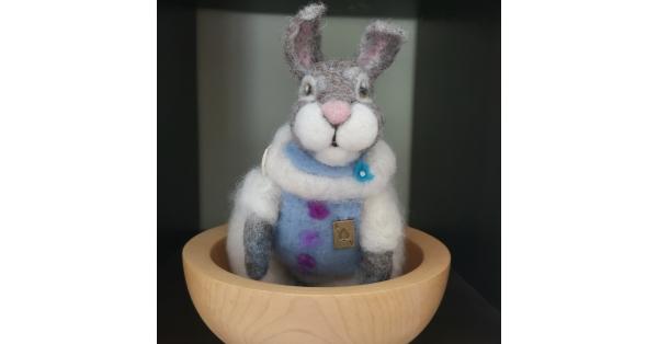 Alpaca Felted Hare